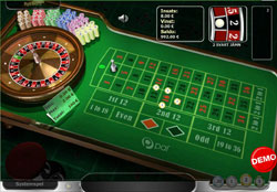 Roulette hos Paf Casino