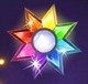 Starburst wildsymbol