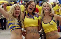 Sverige fans